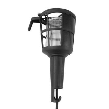 Profile looplamp met korf en ophanghaak exclusief lamp E27 60 W 5 meter snoer