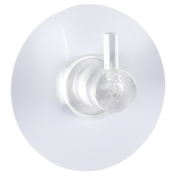Wenko Staticloc haak gordijn wit 2 st