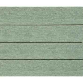 Clin de bardage simple Durasid olive 500x16,7 cm 4 pièces 3,33m²