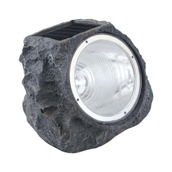 Lampe solaire rocher gris Eglo +  LED 0,06 W
