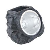 Eglo solar tuinlamp rots grijs met geïntegreerde led 0,06 W