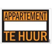 Affiche appartement te huur 25x35 cm