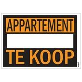 Affiche appartement te koop 25x35 cm