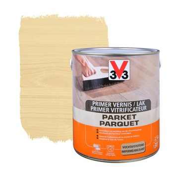 V33 parketvernis frequent gebruik hoogglans kleurloos 750 ml