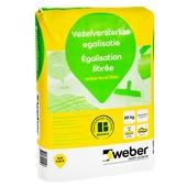 Weber égalisation fibrée pour sol 20 kg