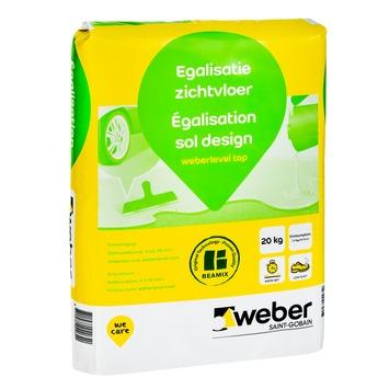 Weber egalisatie zichtvloer 20 kg