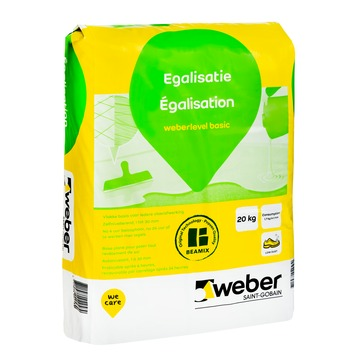 Weber egalisatie 20 kg