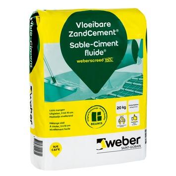 Weber sable ciment liquide 20 kg