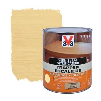 V33 trappenvernis anti-druip zijdeglans kleurloos 2,5 L