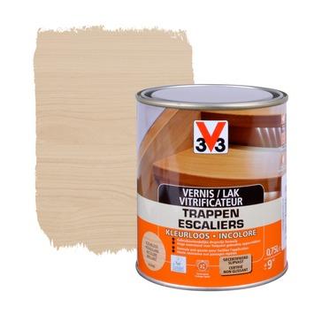 V33 trappenvernis anti-druip hoogglans kleurloos 750 ml