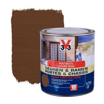 V33 Ramen & Deuren High Protection beits zijdeglans notelaar 750 ml