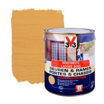 V33 Ramen & Deuren High Protection beits zijdeglans noorse den 2,5 L