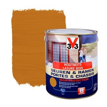 V33 Ramen & Deuren High Protection beits zijdeglans lichte eik 2,5 L