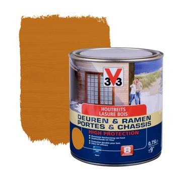 V33 Ramen & Deuren High Protection beits zijdeglans lichte eik 750 ml