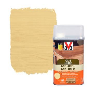 V33 meubelolie mat kleurloos 500 ml
