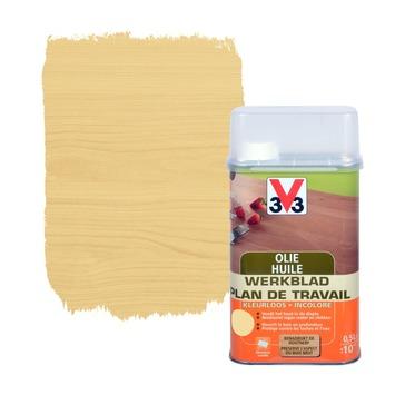 V33 werkblad onderhoudsolie kleurloos 500 ml