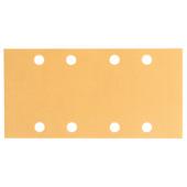 Papier abrasif pour ponceuse vibrante Bosch 93x186 C470, Best for Wood+Paint G180 10pcs