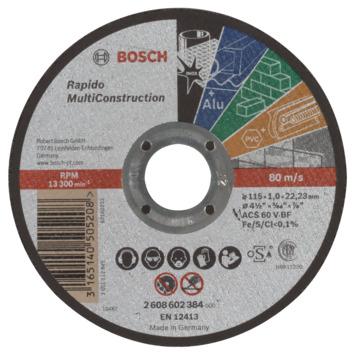 Bosch diamantslijpschijf MC 115x1,0x22,23 mm