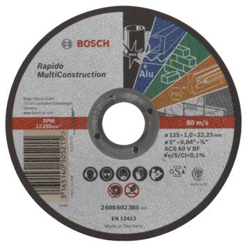 Bosch diamantslijpschijf MC 125x1x22,23 mm