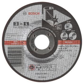 Bosch doorslijpschijf 125x2,5x22,23 mm