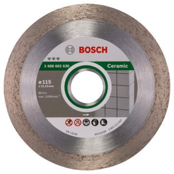 Disque à tronçonner diamanté Bosch Professional Best for Ceramic 115 x 22,23 x 1,8 x 10 mm 1pc