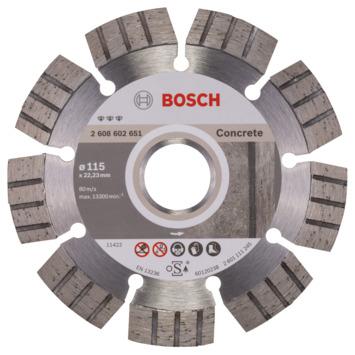 Bosch Professional diamantzaagblad 115 mm beton