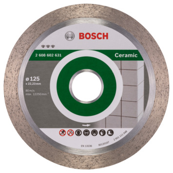 Bosch Professional diamantdoorslijpschijf best for ceramic 125 x 22,23 x 1,8 x 10 mm 1st
