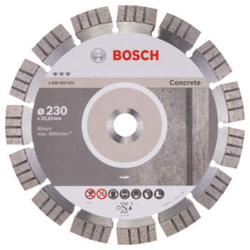 Bosch Professional diamantzaagblad 230 mm beton