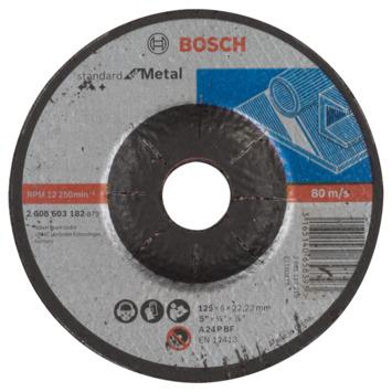 Meule à ébarber à moyeu déporté Standard for Metal A 24 P BF, 125 mm, 22,23 mm, 6,0 mm 1pc