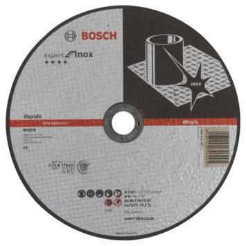 Bosch Doorslijpschijf recht Expert for Inox - Rapido AS 46 T INOX BF, 230 mm, 22,23 mm, 1,9 mm 1st