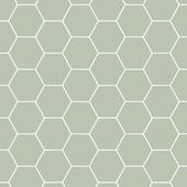 Papier peint intissé Graham & Brown Easy alvéole vert 101811 10 m x 52 cm