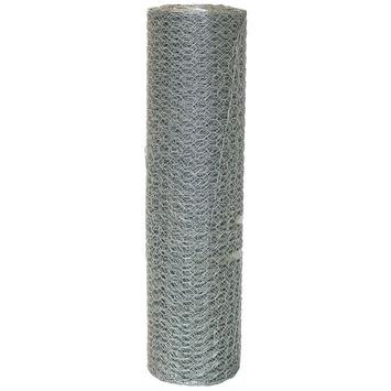 Gaas zeskant verzinkt 16x0,7 mm 50 cm 25 m