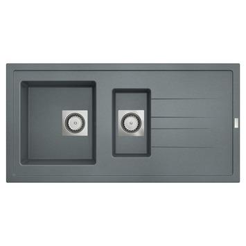 Van Marcke Molto spoeltafel 98x50 cm 1,5 bak beton grijs