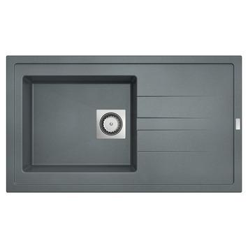 vier 1 bac molto van marcke 86x50 cm gris b ton eviers. Black Bedroom Furniture Sets. Home Design Ideas