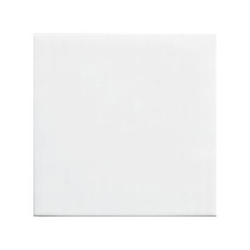 Carrelage mural blanc mat 20x20 cm 1 m²