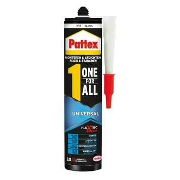 Pattex One for All Universal blanc 390 g