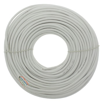 Câble UTP CAT6 Q-link 50 m blanc