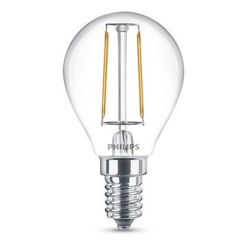 Ampoule globe LED à filaments Philips E14 250 lumens 25W