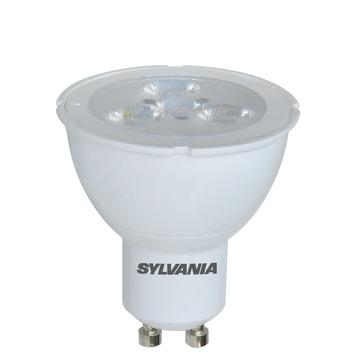 Sylvania LED spot GU10 345 lumen 5W = 50W Cool White