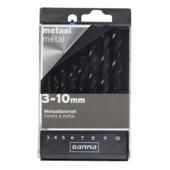 GAMMA metaalcassette 8-delig