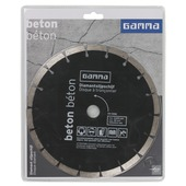 Meule diamantée béton GAMMA 230 mm