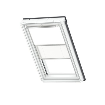 Store occultant manuel duo Velux  DFD S06 1025s blanc