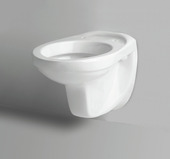 WC suspendu New Forza/Serano porcelaine blanc