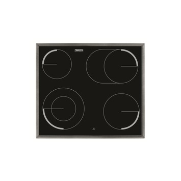 Zanussi vitrokeramische kookplaat ZEV6046XBA 57 cm 4 kookzones