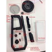 Jeu d'accessoires pour nettoyeur à haute pression GAMMA HDR 130-150 bar