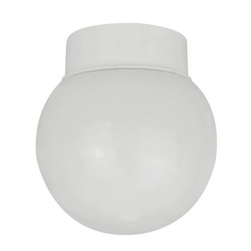 Plafonnier boule Denver OK E27 max. 42 W blanc