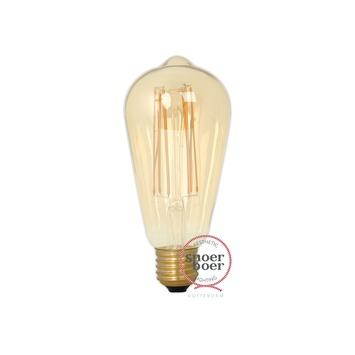 Calex LED filament peer E27 4W 320 Lm dimbaar goud