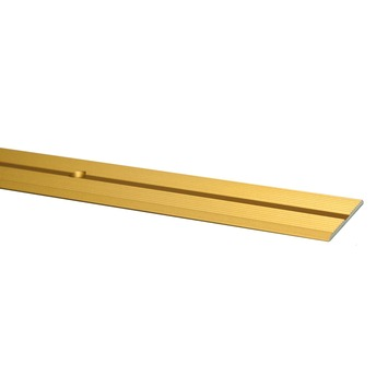 Overgangsprofiel goud 166 cm