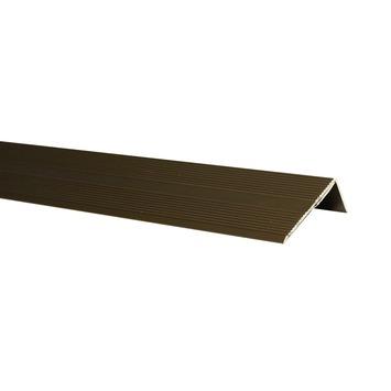 Nez de marche bronze foncé 42x22 mm 110 cm