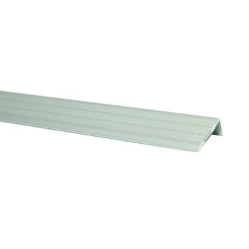 Profilé adhésif en L aluminium 116 cm